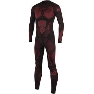 Alpinestars Ride Tech Summer One Piece Suit Black/Red Size XL/2XL