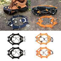 Crampons de Chaussures pour Randonnée à Neige Glace 18 Dents Accessoire Bottes