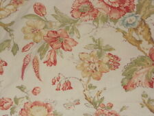 POTTERY BARN KATHERINE  PALAMPORE FLORAL BUTTERFLY 3PC FULL/QUEEN DUVET SET