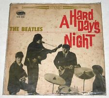 Chinese THE BEATLES A Hard Day's Night LP Record