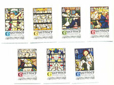 Guernsey-Christmas 2015-William Morris -Art-Stained Glass Windows mnh set