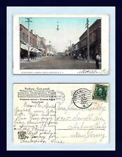 North Carolina Greenville Posted 1907 To John Leadley, Asbury Park, New Jersey