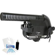 Condenser Shotgun Mic Holiday Bundle for Canon EOS C500 / C500PL Camcorder