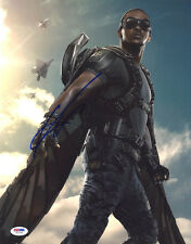 Anthony Mackie SIGNED 11x14 Photo Falcon Captain America PSA/DNA AUTOGRAPHED