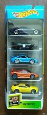 Hot Wheels 2020 HW EXOTICS 5 Pack Cadillac Jaguar Porsche McLaren Aston Martin