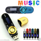 USB LCD Screen Support 16GB Flash TF CARD MP3 Player lecteur Music FM Radio LOT