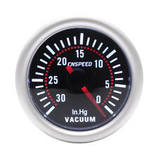 "2"" 52mm LED Car Auto Vacuum Digital Gauge Meter 30-0 In.Hg Smoke Len Universal"