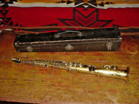 GOLD PLATED THE BUESCHER TRUE TONE SOPRANO SAXOPHONE LOW PITCH   1925/26