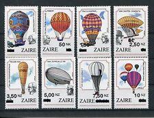 Zaire 1089/96 postfrisch / Ballone - Zeppeline ...........................1/1477