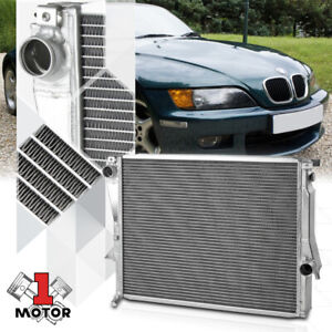 Aluminum 3 Row Performance Radiator for 98-02 BMW E36 Z3 M-Coupe/Roadster 3.2 MT