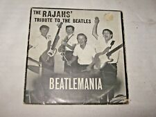 "A Rare 1964 The Rajahs Tribute to the Beatles Beatlemania (Aust) 7"" E.P. Single"