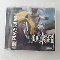 Road Rash PlayStation 1 PS1 Complete Tested Black Label Fast SHIPPING