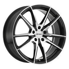 19 inch 19x8 PETROL P0A Gloss Black wheel rim 5x4.49 5x114 +40