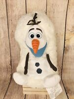 Disney Olaf Hideaway Pets Plush Stuffed Snowman Frozen White Snowball 13""