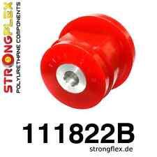 4 PU Buchsensatz für Tonnenlager  HA Mercedes 190 W201, 202, E124 StrongFlex