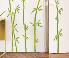 Wandtattoo Wandsticker Homesticker Bambus Asien Blumen Pflanzen Garten Blüten