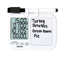 Taylor Digital Plastic Timer with Whiteboard