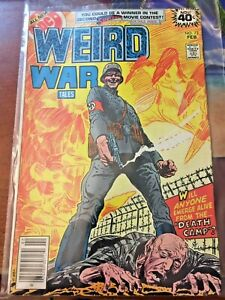 Weird War Tales 72
