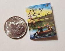 Miniature book Boy Scouts Handbook  Action Figure Gi Joes Barbie 1/12 Scale 2016