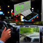 New HUD Projector Head Up Display System OBD II Reflective Film Screen Sticker