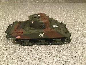 Forces Of Valor Unimax 1:32 Diecast US Sherman Tank Normandy 1944 FOR PARTS