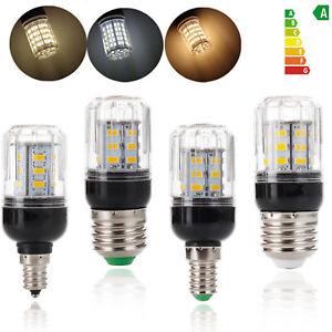 E26 E12 E27 E14 9W LED Corn Light Bulbs 27LEDS 5730 SMD 110V 220V DC 12V 24V Lam
