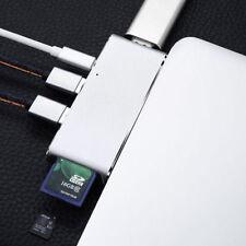 USB C USB 3.0 Hub Multi 6 Port Adapter HDMI Output Für MacBook Google Chromebook