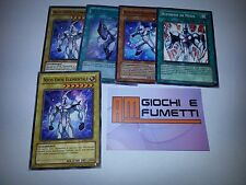LOTTO 5 CARTE EROE ELEMENTALE NEOS in Italiano ORIGINALI  YUGIOH!  AFFARE!