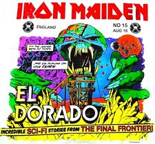 Iron Maiden - El Dorado EP Vinyl LP Heavy Metal Sticker, Magnet
