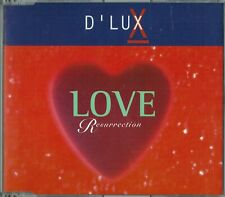 "D'LUX - 5"" CD - Love Resurrection (6 Mixes) Alison Moyet  Logic"