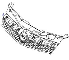VAUXHALL RADIATOR GRILLE - GENUINE NEW - 93186689
