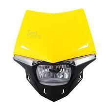 Yellow UFO Enduro Headlight Fairing For Sherco 50cc Enduro SHARK Supermotard AM6