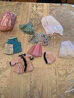 Vintage lot of doll clothes V1