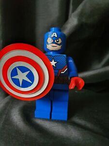 3D Printed Lego Inspired Marvel Captain America