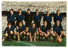 Cartolina Inter Squadra Anni 60