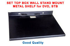 SET TOP BOX WALL STAND MOUNT METAL SHELF for DVD, STB