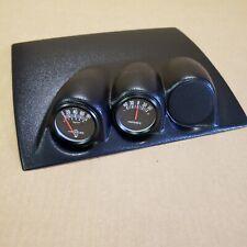 Fits 2003 - 2008 Mazda Mazda3 Triple Dash Mounted 3 Pod Gauge Holder