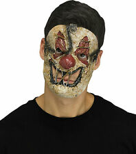 Fun World Killer Clown Creepy Sewn Mouth Horror Halloween Mask