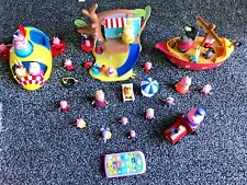 Enorme PEPPA PIG Playset, SPACESHIP ROCKET, figuras, PIRATE SHIP BOAT, TREEHOUSE Toys