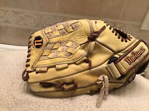 "Nokona NOK1300 13"" Women 's Fastpitch Softball Pitchers Glove Left Hand Throw"