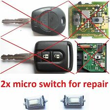 2x Switch bouton pour télécommande clé plip Nissan ALMERA PRIMERA X-TRAIL micra