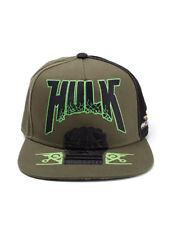 OFFICIAL MARVEL COMICS - THOR: RAGNAROK HULK FIST GREEN SNAPBACK CAP (NEW)