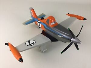 Disney Planes Dusty Crophopper Talking Airplane Vehicle Thinkway Toys