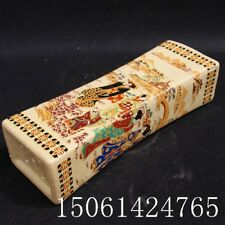 Chinese old  Famille Rose Porcelain Maid Porcelain pillow
