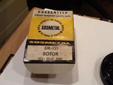Dr-121 Sos Metal, Ignition Rotor, Delco Remy