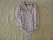 Raincoat by Weathertamer Belted Mauve Pink Jacket S Small Women's