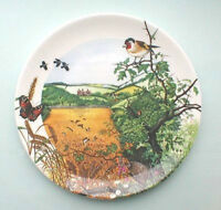 Wedgwood Plate : COUNTRY PANORAMA  : Village in the Valley : Box & Certificate