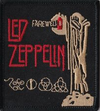 Led Zeppelin - Farewell - Iron On or Sew On Patch