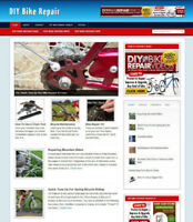 DIY BIKE REPAIRS WEBSITE AFFILIATE STORE & NEW DOMAIN & HOSTING