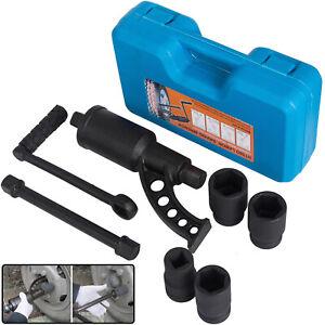 "1:78 Torque Multiplier Set Wrench 1"" Lug Nut Labor Saving Remover 4pcs Socket"